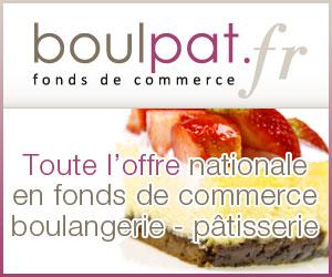 Toute l'offre nationale en fonds de commerce boulangerie pâtisserie